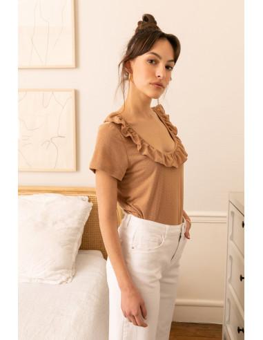 T-shirt JENNY Camel