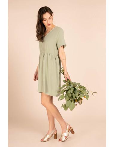 Robe BERTILLE Vert