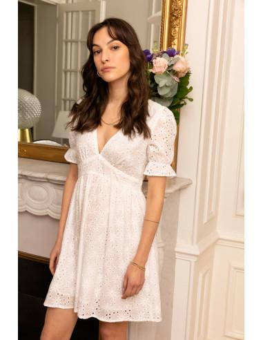 Robe ELIE Blanc